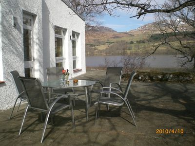 Photo for Secluded, south side  Loch Tay, spectacular views, water access