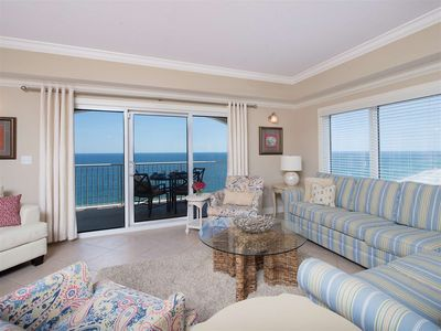 Photo for 4 Bedroom, Gulf Front, West Corner Unit, #1605, AMAZING SUNSET VIEWS!