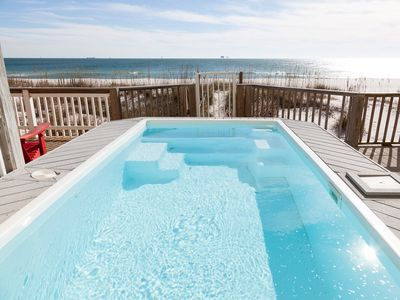 Photo for BEACHES ARE OPEN! On the Beach, Pool, 3 masters, FAR FR PUBLIC BEACH ACCESS!