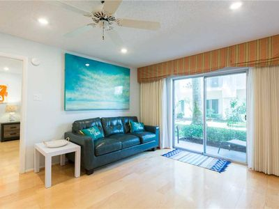 Photo for Palm Bay Club #330- First Floor 2bd/2ba Condo w/ Washer & Dryer, Double Living Room, Sleeps 6