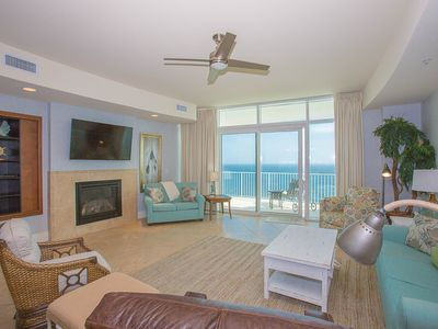 Photo for Beautiful Gulf Front Condo! Amazing Views, Beachy Decor & Upgrades!