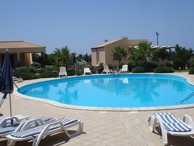 Photo for VILLA CLOSE TO THE BEACH WITH SHARED SWIMMING POOL AND LARGE GARDEN FREE WIFI