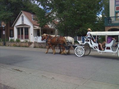 Horse & Carriage pass house daily