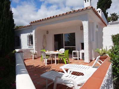 Photo for Villa with sea views in Nerja