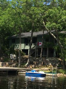 Photo for Cozy Island Cottage located on Lower Buckhorn Lake