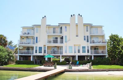 Photo for Dexter's Beach Home - 2 fl luxury with 2 spacious balconies 150' from beach!