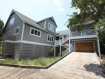 Photo for No Worries Mate Now Dog Friendly! 5 Bedroom Home Set in Maritime Forest