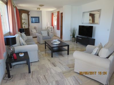Photo for Ref: 209 - Fantastic 3 bedroom apartment. First line with views