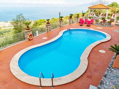 Photo for Villa Sara - Stunning sea view with private swimming pool