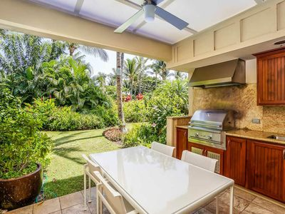 Photo for Stunning Garden View at Mauna Lani Resort w/ AC, Walking Distance to Beach, Resort Pool, Hot Tub