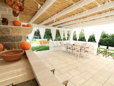 Photo for Stylish 2 bedroom house in Puglia. Jaccuzzi. WIFI
