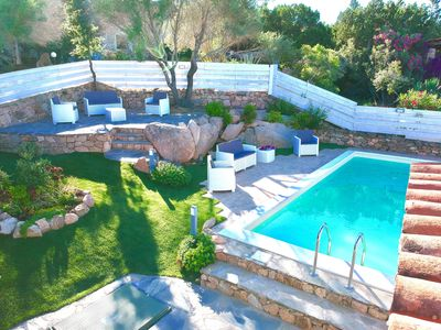 Photo for Wonderful Ginepro Villa, private pool, panoramic sea view,300 mt from the beach
