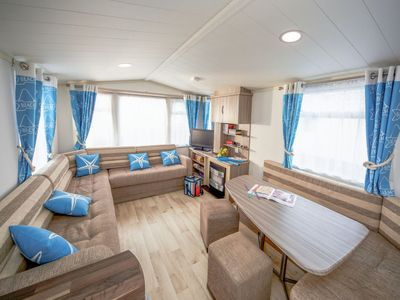 Photo for Vacation home Caravan Perran Sands in Perranporth - 4 persons, 2 bedrooms