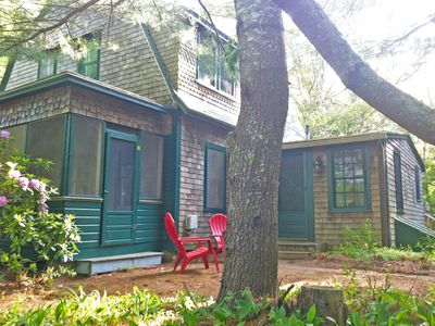 Photo for Historic Summer Cottage on Pristine Long Pond, Newly Renovated Kitchen