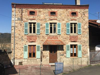 Photo for Country cottage without joint ownership, sector Issoire, 6 people