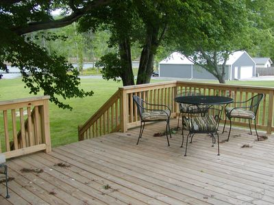 Outside Deck Relaxing/Eating Area