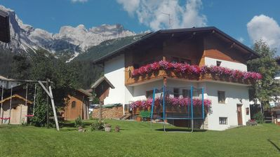 Photo for Holidays in the heart of the dolomites