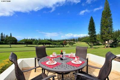 Enjoy beautiful views from one of your private lanais