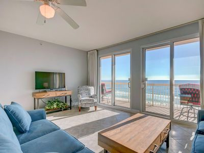 Photo for Calypso 509 East - DOUBLE Beach Chairs + Netflix!