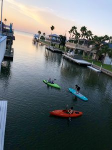 On the water; Sunrise/sunset views; Great fishing; Spacious;Plenty of activities