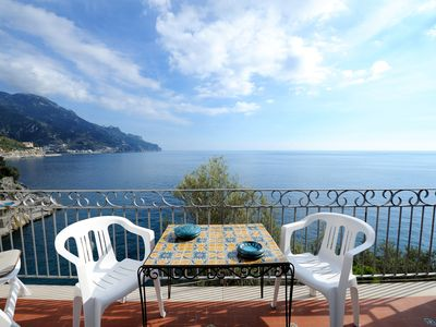Photo for Villa with a stunning view at the sea