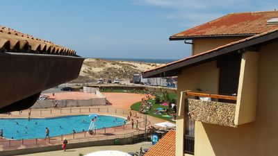 Photo for Apartment SEIGNOSSE, Ocean View 100m from the Beach, 4 pers. 32m2