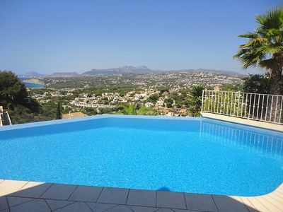Photo for Fabulous Villa With Infinity Pool And Stunning Sea Views