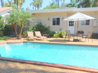 Photo for Lake Breeze 3/2 For 8 Guests Large Pool 1 Mile To Beach And Downtown