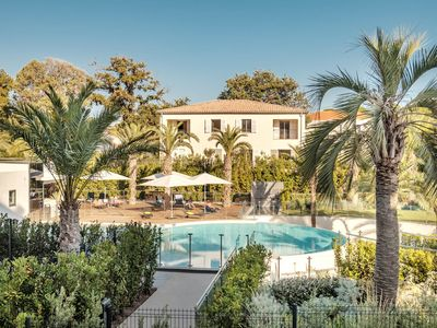 Photo for Exclusive apartment in luxury residence with pools, spa and tennis court