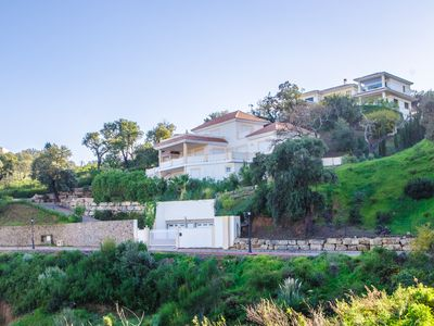 Photo for Stunning Villa with Pool, Sea and Mountain View
