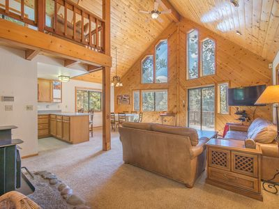 Photo for Prime Tahoe Donner, Multi-Fam, 2 Masters, Hot Tub, Pets OK, Quiet+Amenities