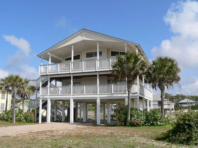 "Photo for Ready After Hurricane Michael! Steps to the Sand! Beach View, East Gulf Beaches, Free Beach Gear, Wi-Fi 4BR/4BA ""Beach Time"""