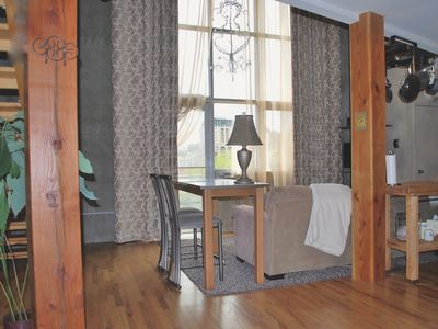 Photo for Charming Urban Loft perfect for two. A easy walk downtown & Convention Center.