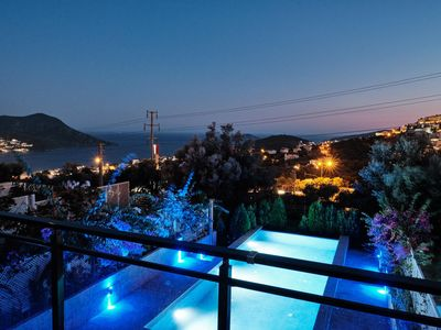 Photo for Luxury 3 Bed Duplex Apartment - Large living room and Private Infinity Pool
