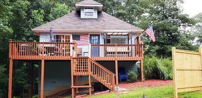 Photo for Beautiful Home on Lake Hartwell- Cozy-Tranquil-The Perfect Getaway!