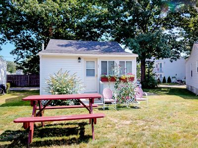 Photo for NEW LISTING! Charming family cottage w/shared pool, near beaches & restaurants
