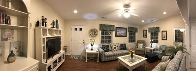 Photo for Feels like home!!. House-friendly dog paws welcomed here! Now booking Aug-Dec!!