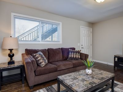 Photo for Newly Renovated 4BR—Two Units in One, Two Miles from Downtown