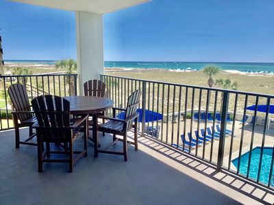 Photo for Spacious 3 Bedroom Condo on the 2nd Floor With Ocean Views!