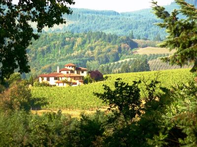 Photo for Casi Cielo Tuscan Vineyard Estate, North Willamette Valley, Spectacular Views