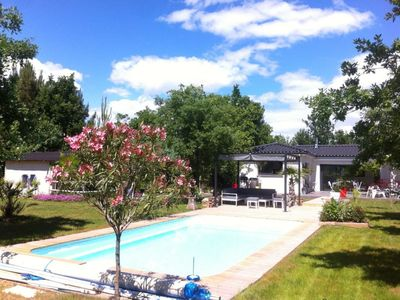 Photo for Modern South Ardèche villa with swimming pool (classified 4 *)