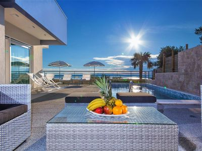 Photo for ** LASTMINUTE ** Villa Blue with pool, modern equipped, panoramic sea view