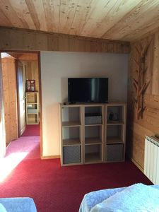 Chambre modulable 1 grand lit ou 2 lits simple