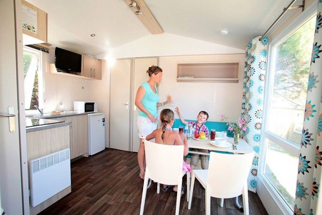 Camping Odalys Des Demoiselles ***   Mobile Home 3 Rooms 4/6 People PMR.  Saint Hilaire De Riez ...