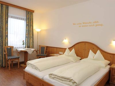 Photo for Double room classic 3/4 gourmet board short - Regitnig - 4 * Hotel & Chalets