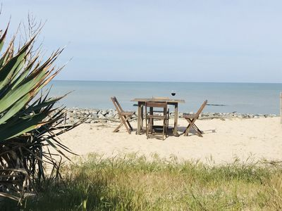 Photo for Small house direct beach access, exceptional setting