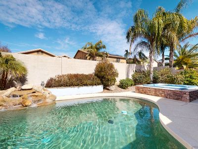 Photo for Dog-friendly home close to spring training w/ a private pool & hot tub