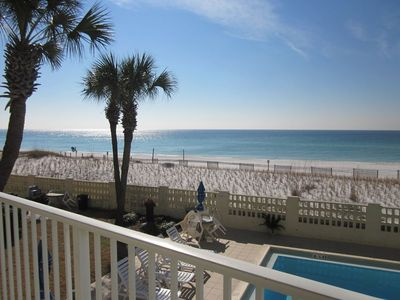 Photo for Aqua Villa #203 'By the Sea' Gulf Front View Condo