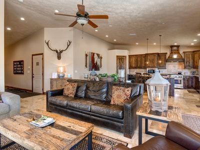 Photo for Lake & Mtn Views -3Min to the Deer Valley SKI Gondola! Pvt Hot Tub-Theater Rm