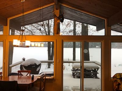 Photo for WHEELER LAKE HOUSE (Kalkaska, MI): Sleeps 7, Snowmobile trails nearby!